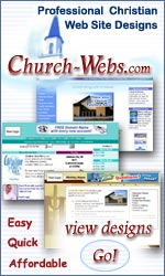 Church Webs -Affordable Christian Web Design - Click Here